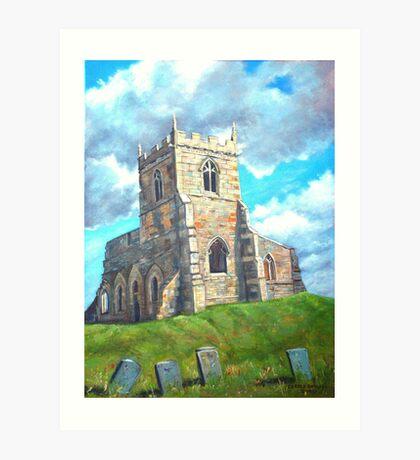 Church Ruin Art Print