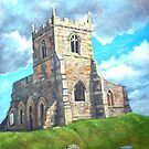 Church Ruin by Carole Russell