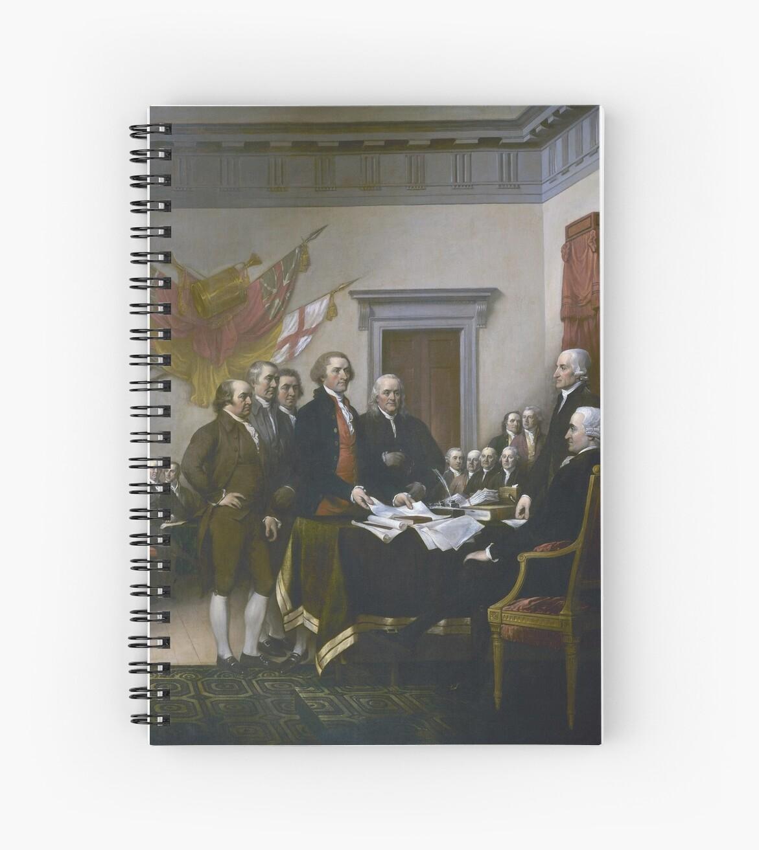Unabhängigkeitserklärung von John Trumbull (1819) von allhistory