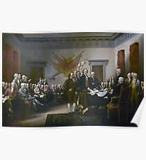 Declaration of Independence by John Trumbull (1819) Poster