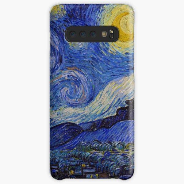 Die sternenklare Nacht von Vincent van Gogh (1889) Samsung Galaxy Leichte Hülle