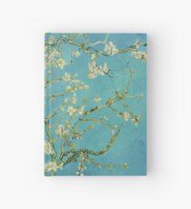 Cuaderno de tapa dura Flores de almendro de Vincent van Gogh (1890)