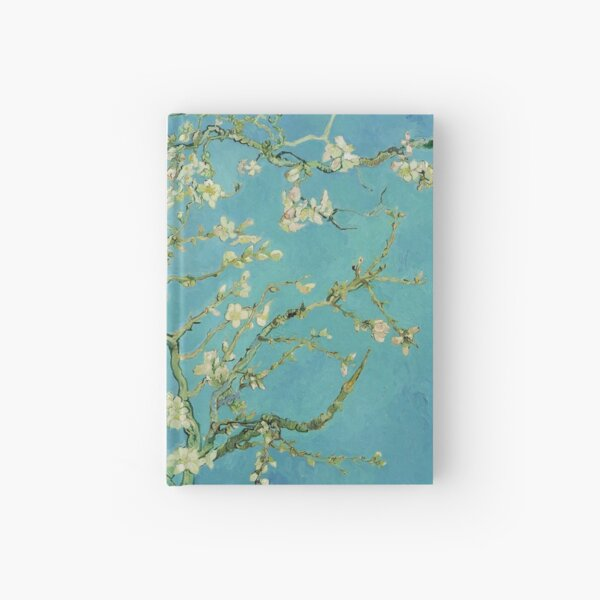 Almond Blossoms by Vincent van Gogh (1890) Hardcover Journal