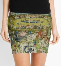 The Garden of Earthly Delights by Hieronymus Bosch (1480-1505) Mini Skirt