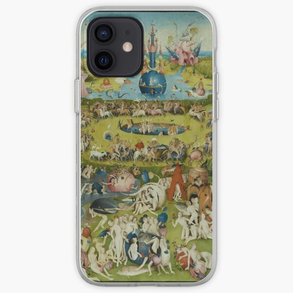 The Garden of Earthly Delights by Hieronymus Bosch (1480-1505) iPhone Soft Case