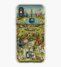 The Garden of Earthly Delights by Hieronymus Bosch (1480-1505) iPhone Case
