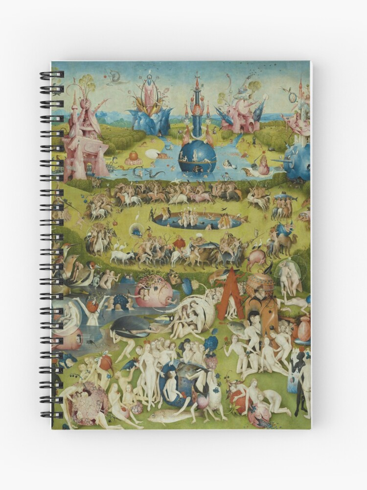 The Garden of Earthly Delights by Hieronymus Bosch (1480,1505)