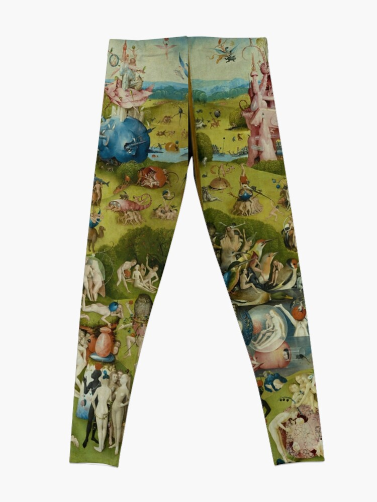 Alternate view of The Garden of Earthly Delights by Hieronymus Bosch (1480-1505) Leggings