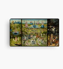 The Garden of Earthly Delights by Hieronymus Bosch (1480-1505) Canvas Print