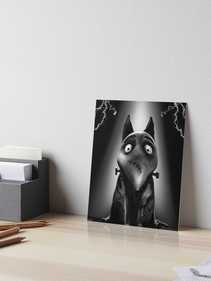 Sparkly Frankenweenie Art Board Print By Anmniniel Redbubble