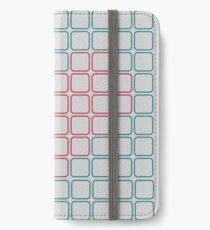 Cube heart iPhone Wallet/Case/Skin