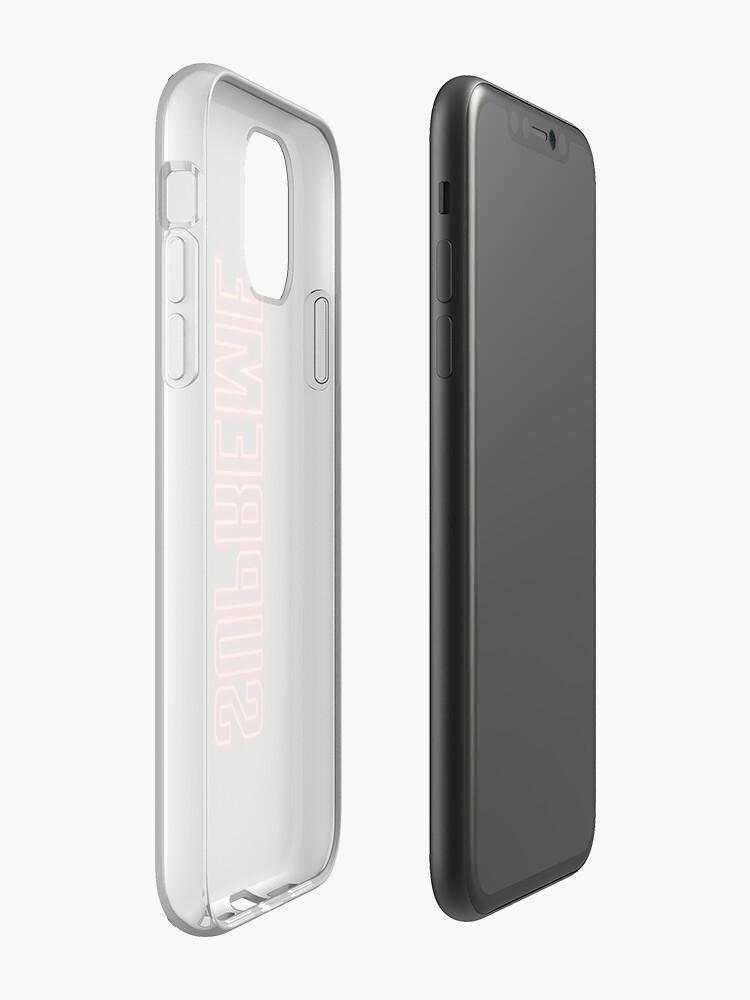 Coque iPhone «Suprême Neon Sign Logo», par sanseffort