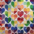 Quilt Hearts by Ian Porter