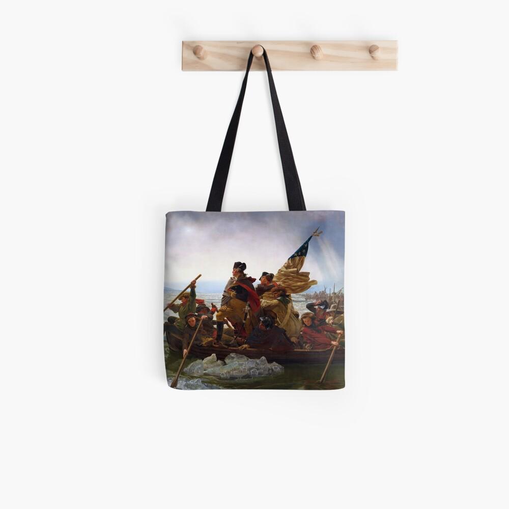 Washington Crossing the Delaware by Emanuel Leutze (1851) Tote Bag