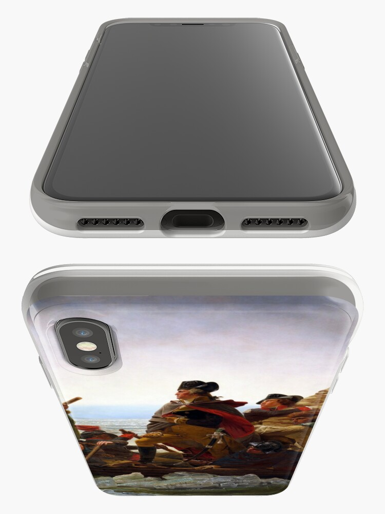 Alternate view of Washington Crossing the Delaware by Emanuel Leutze (1851) iPhone Case & Cover