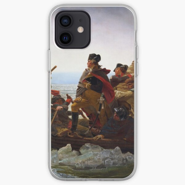 Washington Crossing the Delaware by Emanuel Leutze (1851) iPhone Soft Case