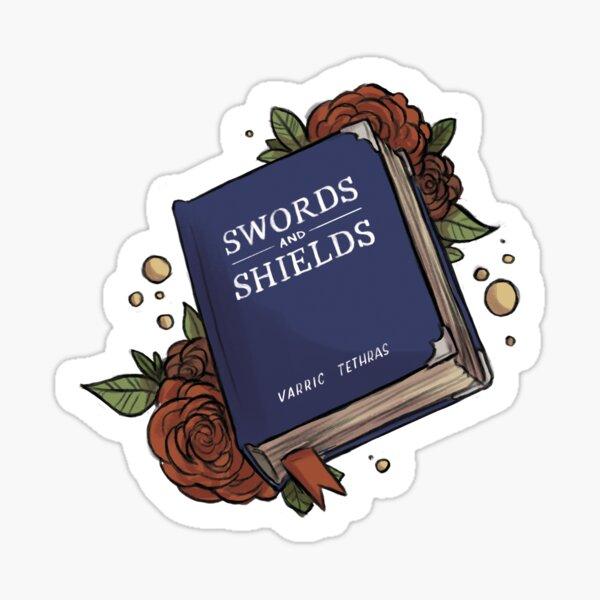 Swords & Shields Sticker