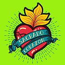 Sagrado Corazon by MworldTee