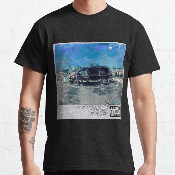 peinture acrylique - kendrick lamar bon enfant ville folle T-shirt classique