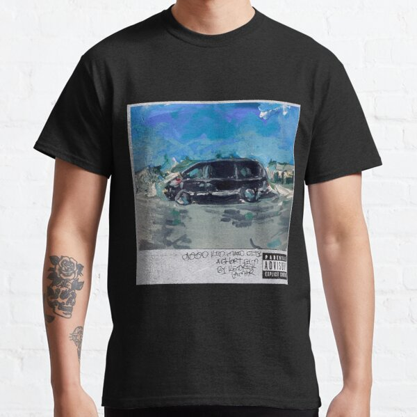 acrylic painting - kendrick lamar good kid mad city  Classic T-Shirt