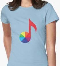 Music Theory Women's Fitted T-Shirt