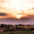 Sunset in Helenville. by spiffyriki