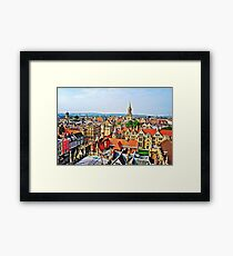 Overlooking Oxford Framed Print