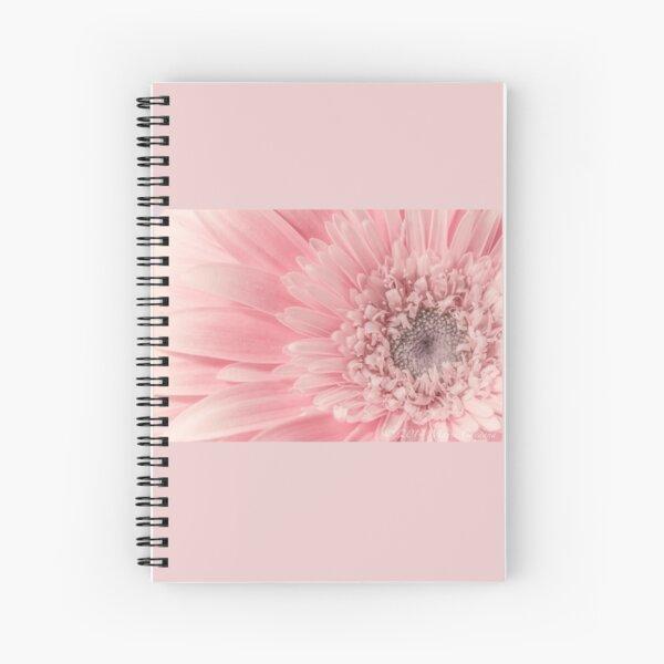 Pink Gerber  Spiral Notebook