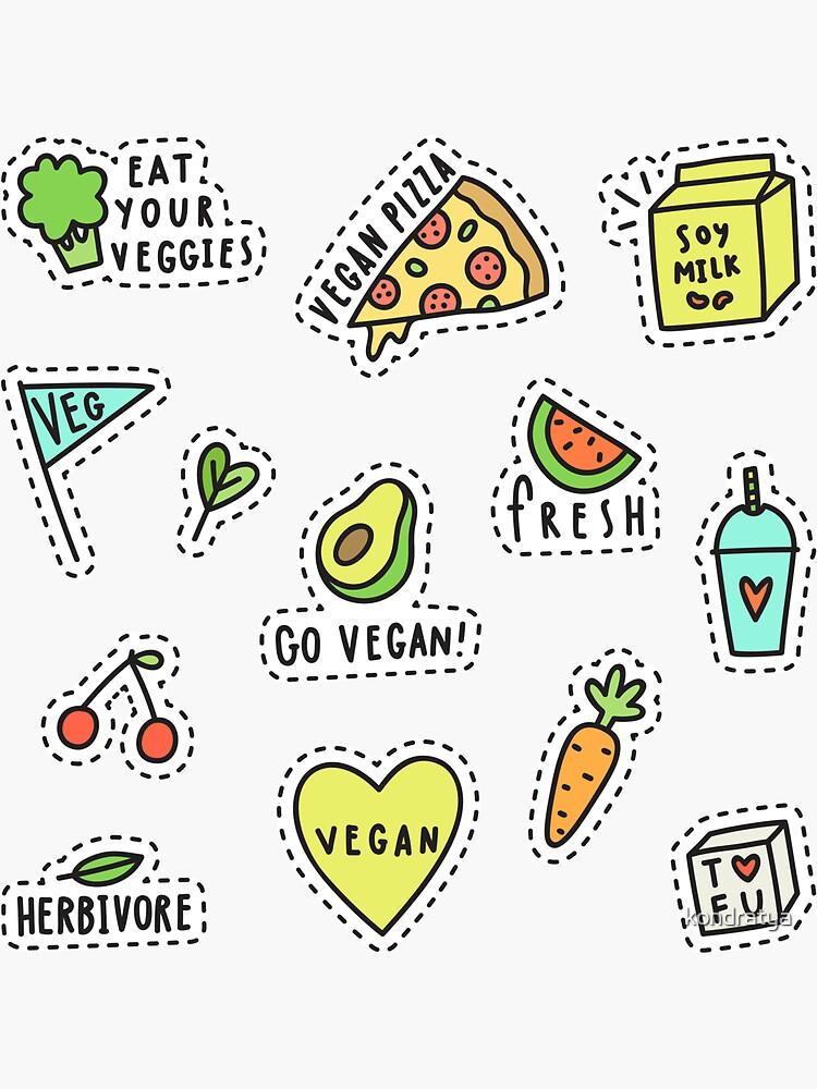 Vegan set by kondratya