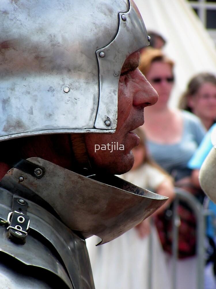 Focussed warrior by patjila