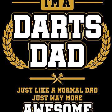 Darts dad by GeschenkIdee