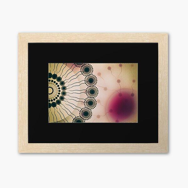 Liposomes - Dendrimers - Nanomicelles Framed Art Print