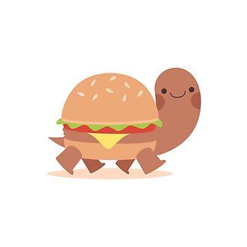Burger turtle by petitspixels