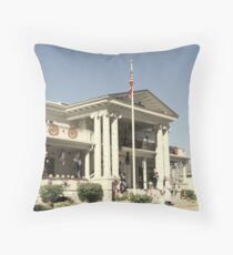 """""""Governor's Mansion"""" Throw Pillow"""