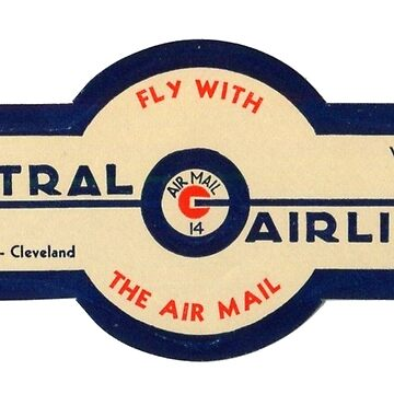 Central Airlines - Fly With the Air Mail! by Bloxworth