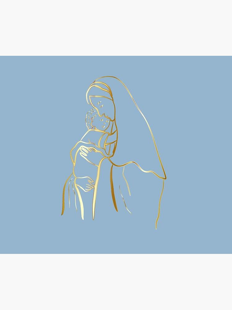 Mater Dei by TRADCATFEM by tradcatfem
