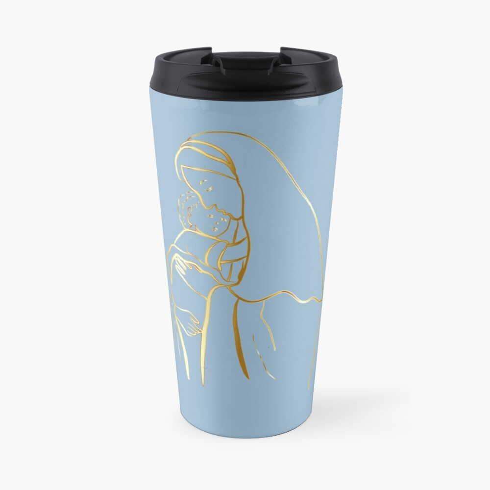 Virgin Mary Mater Dei  Travel Mug