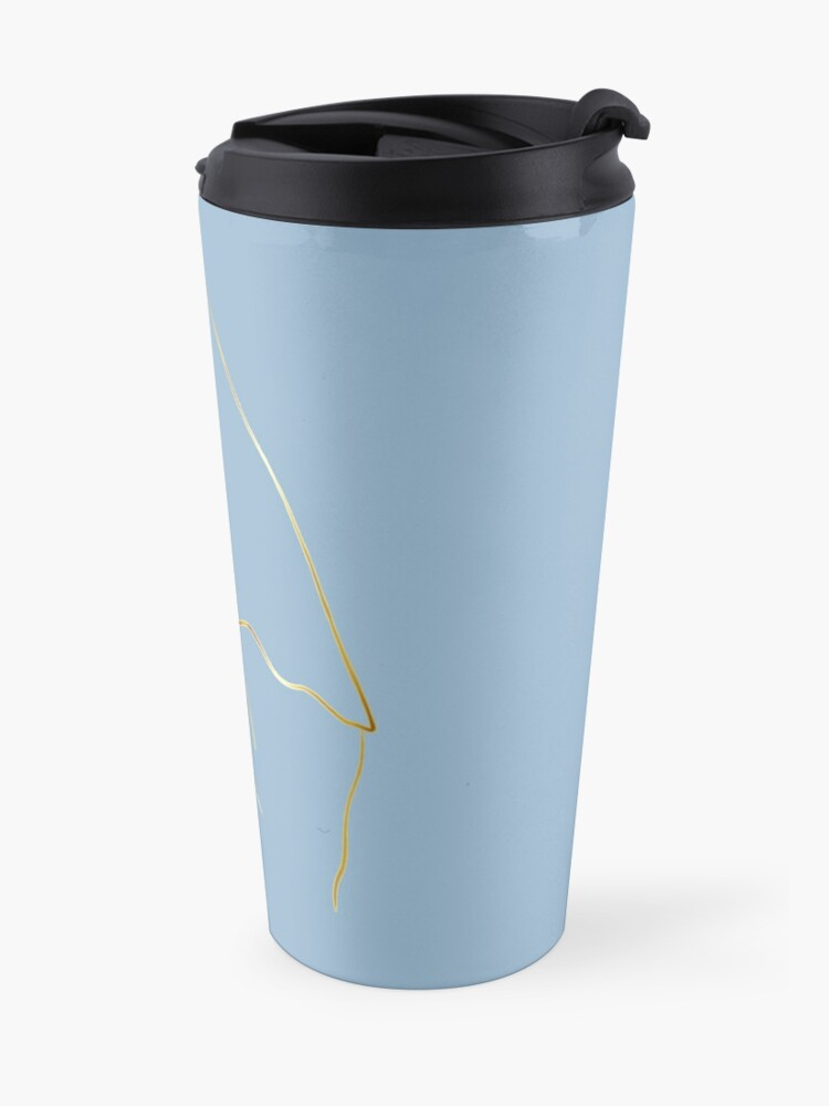 Alternate view of Virgin Mary Mater Dei  Travel Mug
