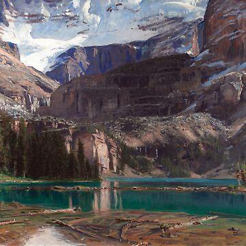 Lake O'Hara, John Singer Sargent by fourretout