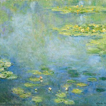 Waterlilies, Claude Monet by fourretout