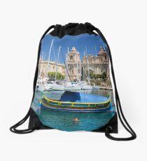 Malta: Traditional Boat Drawstring Bag