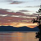 """""""Fall Sunset"""" by Lynn Bawden"""