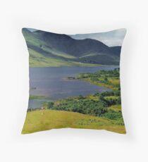 Lough Nafooey Throw Pillow