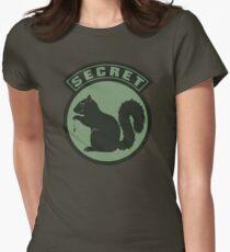 Secret Squirrel - Carp Fishing Women's Fitted T-Shirt