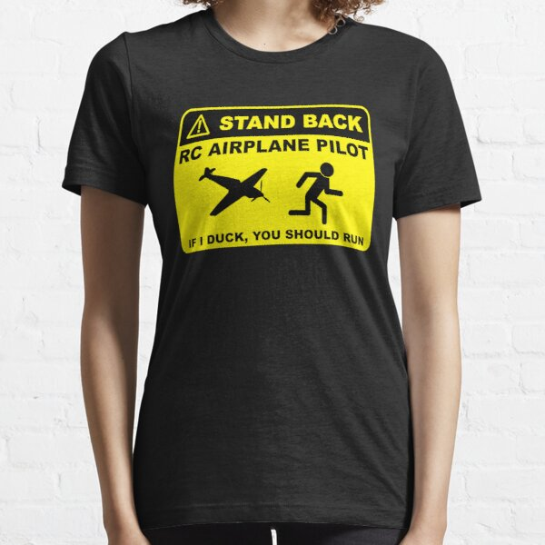 RC Airplane Pilot - Stand Back Essential T-Shirt