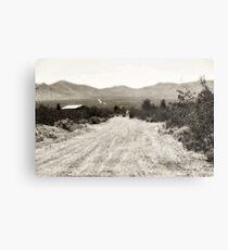 The Last Road Metal Print