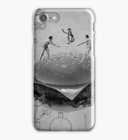 Black & White Collection -- American Dream iPhone Case/Skin