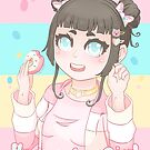 Donut Harajuku Girl - 2019 (Bust-Up) by devicatoutlet