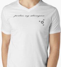 Perlas Ng Silangan (Lite Tee) Men's V-Neck T-Shirt