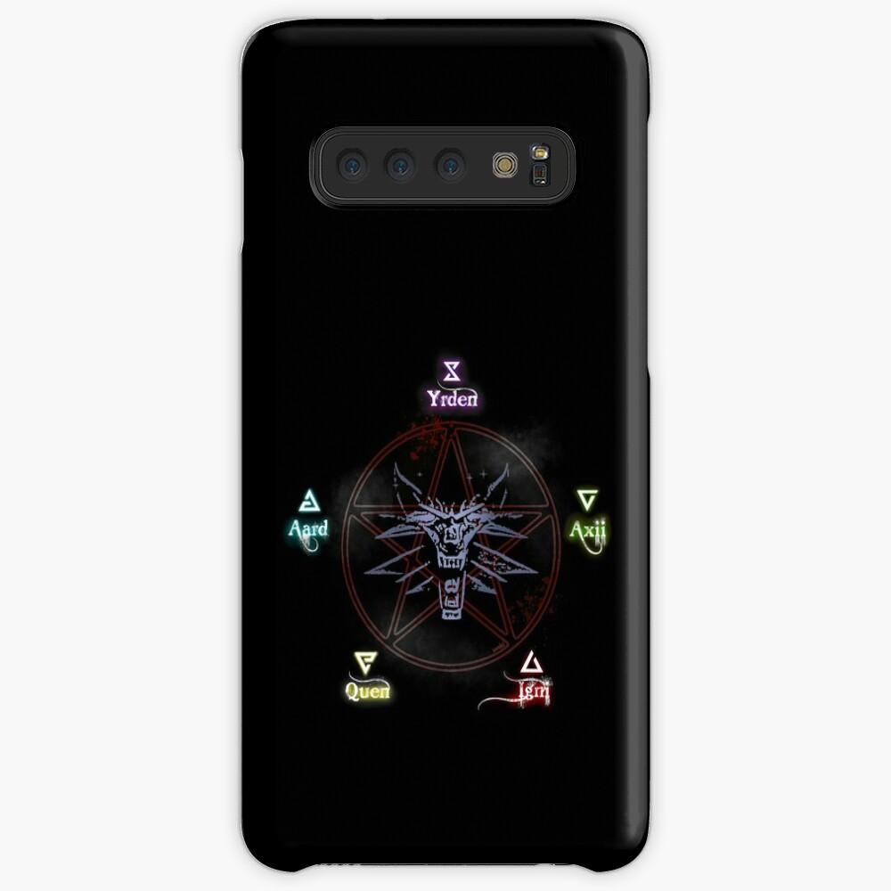 The Witcher unterschreibt Zauber Hüllen & Klebefolien für Samsung Galaxy